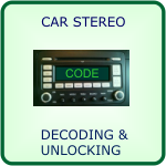 car stereo decoding and unlocking