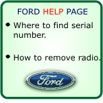 ford car stereo decodes